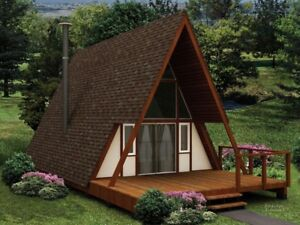 """NEW  """"A"""" frame style cabin KIT"""
