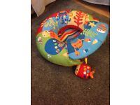 Baby Chair and Inflatable Ring