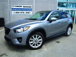 2014 Mazda CX-5 GT 61000KM AWD CUIR TOIT OUVRANT CLIMATISEUR