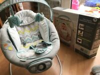 Ingenuity Baby Bouncer Chair (+ batteries)