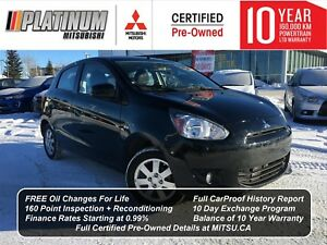 2014 Mitsubishi Mirage SE | LOW KM | Financing starting at 0.9%