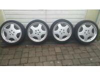Alloy Wheels Mercedes CLK