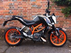 Very well looked after KTM 390 Duke for sale