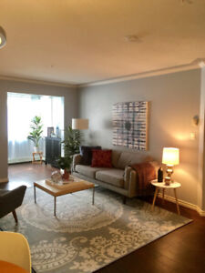 2 bedroom condo in the heart of downtown