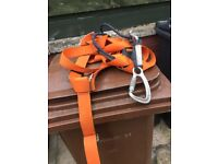 Safety harness - orange