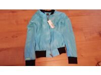 Adidas bomber jacket for sale electic blue