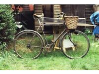 **VINTAGE**TRIUMPH BICYCLE**RIDEABLE**BIKE**