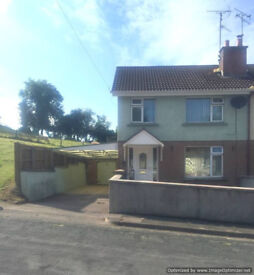 3 BEDROOM SEMI DETACHED TO RENT IMMEDIATELY IN TEMPO VILLAGE IN COUNTY FERMANAGH