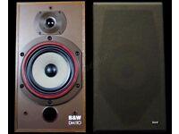 B & W Hi-Fi Speakers