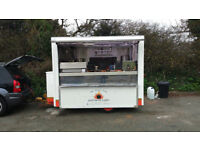 Mobile catering trailer - all appliances, nearly new bespoke interior.