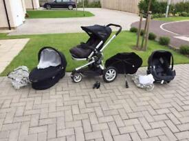 Quinny buggy travel system bundle