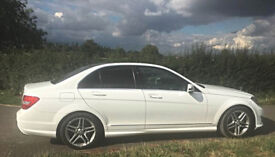 Mercedes C220 AMG Sport Blue Efficiency Saloon 35k 13 plate Fast and economical