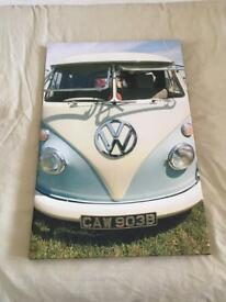 VW camper van canvas
