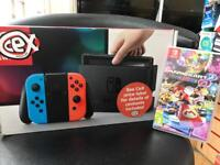 Brand new Nintendo Switch 32gb with Mario Kart 8