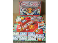 Monopoly ( MANCHESTER UNITED EDITION ). board game. By Hasbro 2005. Excellent & Complete.