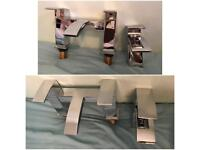 Brand New Modern Bath & Basin Mixer Taps