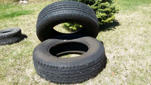 2 tires in good condition