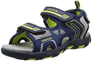• GEOX Size 1 Boys' J Sand Pianeta B Fashion Sandals