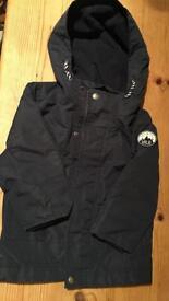 Boy navy coat 18-24