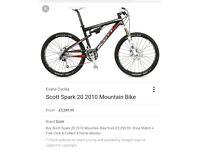 Scott Spark 20 Full Carbon