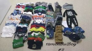 18 month boys clothes OVER 70 PIECES