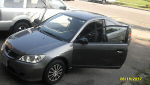 2005 Civic Coupe Clean fully serviced from day 1 new engine