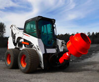 SKID STEER CONCRETE MIXING SERVICES