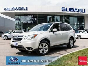 2015 Subaru Forester 2.5i No Accidents, One Owner, Off Lease  LO