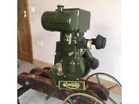 Ruston PT 1000rpm stationary engine