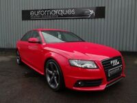 Audi A4 2.0 TDI BLACK EDITION 170PS (red) 2011