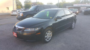 2008 Mazda Mazda6 4 DOOR Sedan *** GAS SAVER *** CERTIFIED $3995