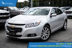 2016 Chevrolet Malibu Limited LTZ Sunroof, Heated Seats, and...