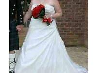 Lady b wedding dress