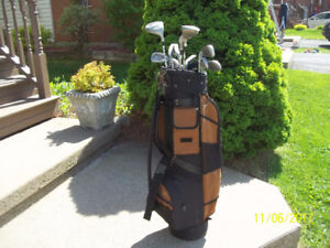 Men's Right Hand 12-pc Golf Clubs Set (Knight Tech Plus) & Bag