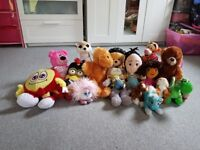 Assorted soft toy
