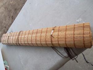 """40"""" Bamboo Roll-Up Shade"""
