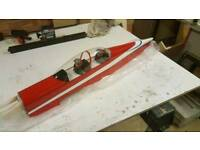 Seagull pc9 fuselage Inc tail. Rc plane.