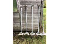 Naan Adjustable Metal Sprinklers Lawn Plants Watering x 5