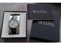 genuine gents bulova watch