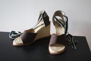 Kate Spade espadrille sandlas like aritzia zara coach jcrew