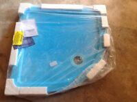 900mm Quadrant shower tray