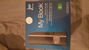WD My Book 3TB USB 3.0 Hard drive