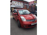 NISSAN NOTE AUTOMATIC (08) 1.6 PETROL +12 MONTH MOT