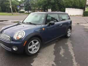 2009 Mini Cooper CLUBMAN, CUIR, TOIT OUVRANT,