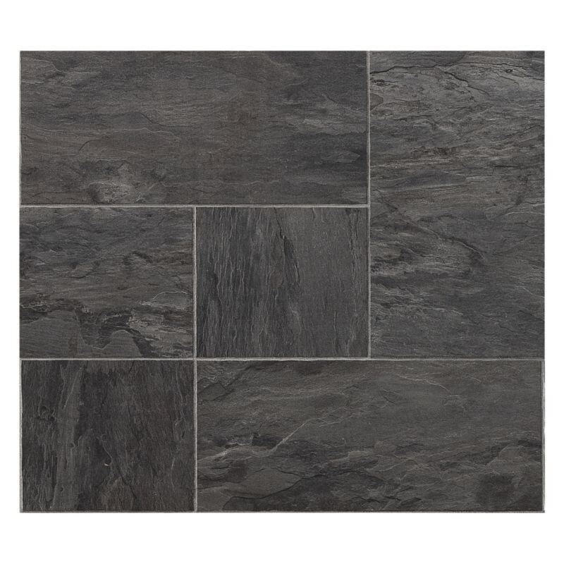 Libretto Black Slate Effect Laminate Flooring 1 86 M² Pack 4 Packs Available
