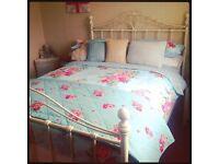 Vintage Floral Double Bedding Set