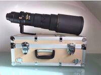 NIKON 500mm AF-S F4 VR ED LENS