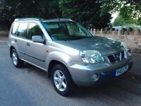 NISSAN X-TRAIL 2.2 DTI SPORT IN SILVER / FSH / CAMBELT CHANGE / 116,000 MILES