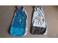 Sleeping bags 12-18 months - 2.5 tog