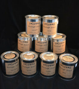 Chalk Style Reloved Paint OLD LABEL 1 QT Tin (WAS $39)  25% off